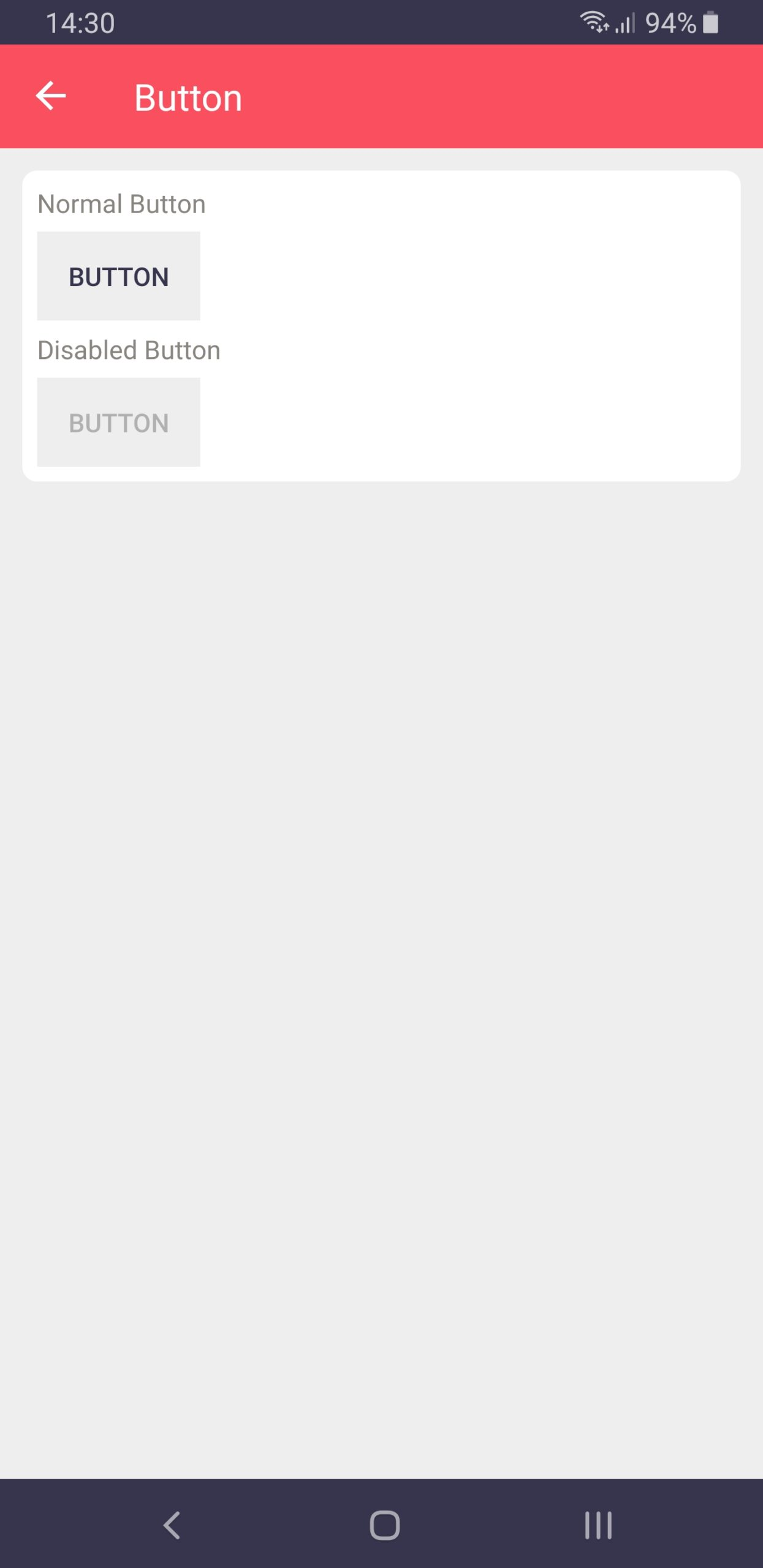 Buttons on Android