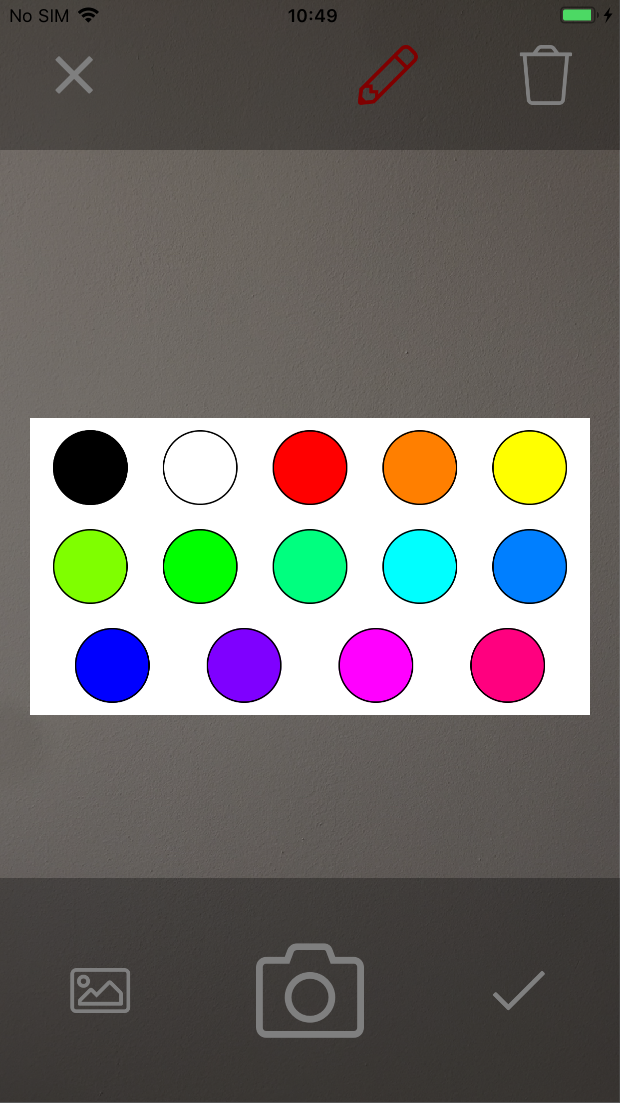 Color Picker on iOS