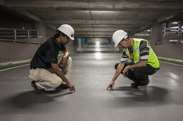 inspectie bouwplaats